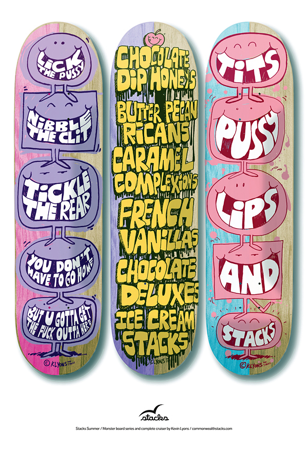 Lyons Skateboards Stacks